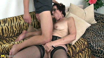 Mom son, Taboo, Old mom, Horny, Young mom, Mom with young