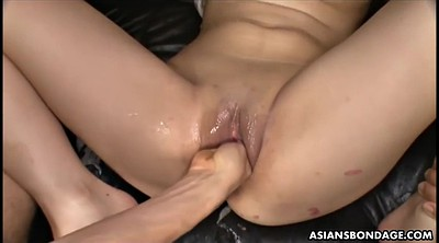 Asian, Orgasm, Bondage, Waxing, Wax, Water