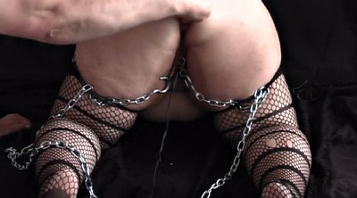 Big dildo, Hang, Chained