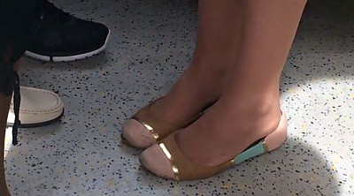 Candid, Candid feet, Shoeplay, Candids