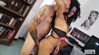 Casting anal, Italian, Small ass, Anal squirt, Anal casting, G-queen