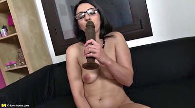 Mature dildo, Huge dildo