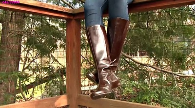 Boots, Leather boot