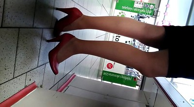 Upskirts, High heels