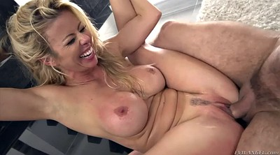 Alexis fawx, Cum on tits, Machine